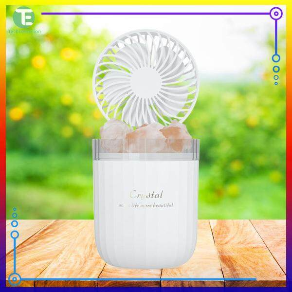 Crystal Salt Stone Humidifier Mist Maker Sprayer Aromatherapy Lamp Desk Home Decoration Singapore