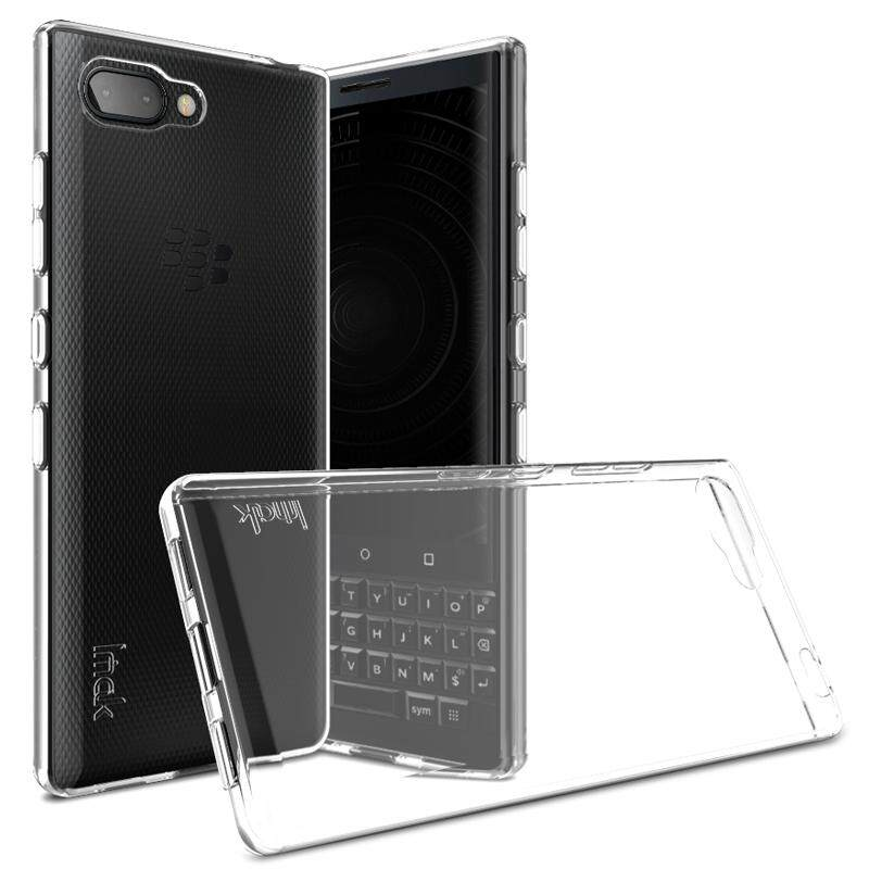 For Blackberry Key2 Imak Shockproof Case 4.5 Inches Soft Tpu Silicone Cover.