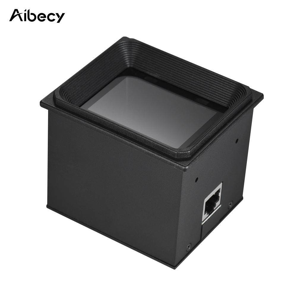 Aibecy 2D/QR/1D Embedded Scanner Module Bar Code Scanner Scan Engine with RS232 Cable Black , RS232&EU Plug