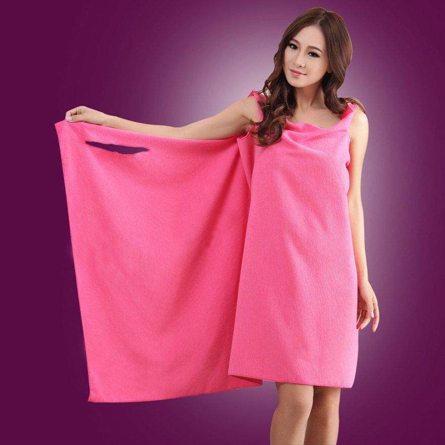 ANEXT m icrofiber changeable bath towel Bath skirt cc01edbb9