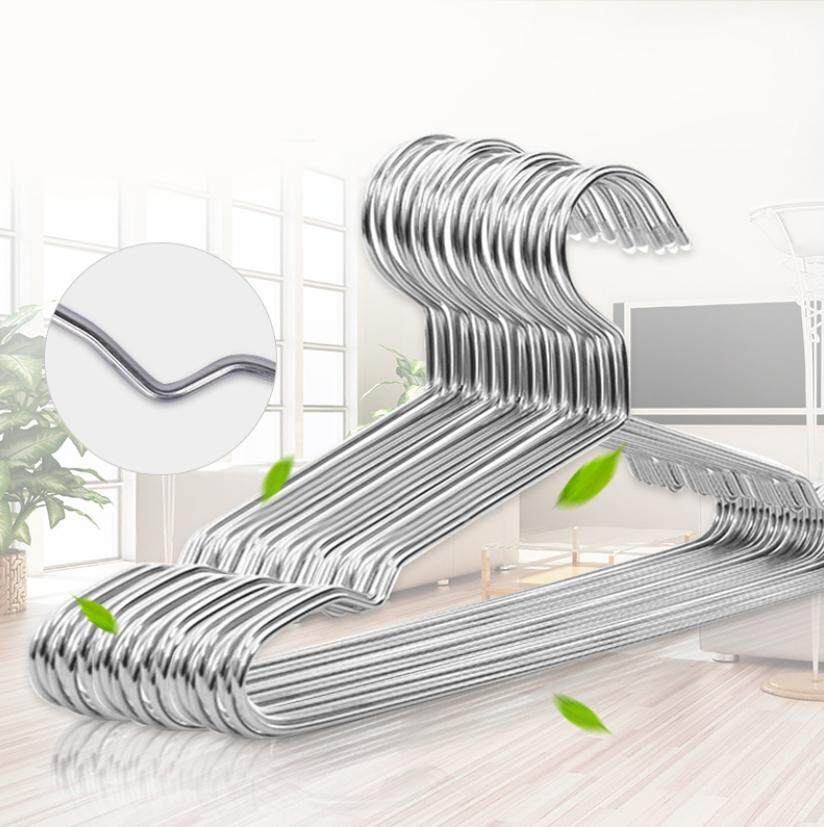 Nava 10pcs Stainless Steel Slip Resistant Hanger By Nava.