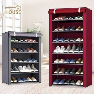 Giá Để Giày Kết Hợp Nhiều Tầng Tủ Để Giày Chống Bụi Giá Xếp Giày Đơn Giản thumbnail