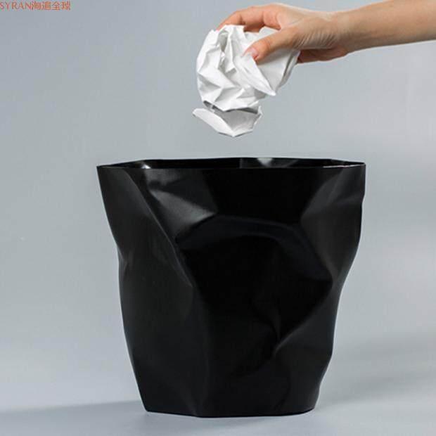 Origional Product Denmark Import Essey Mini Bin Creative Pleated Trash Dust Basket Garbage Can Small