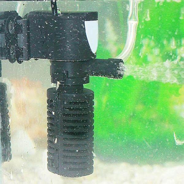 3 trong 1 Bể Cá Mini Nội Bộ Lọc Oxy Bơm Chìm Cho Cá Với Cổ Greenwind