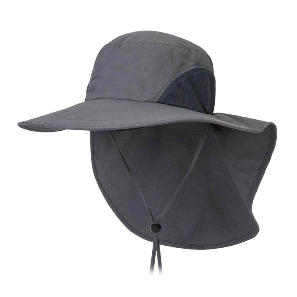 438ed6b25 Ali-Yes Fishing Hat, MOGOI Sun Protection Cap 360°UV Protection UPF 50 Wide  Brim Folding Sun Hat With Neck Flap Or Men Women Hiking Fishing Outdoor ...