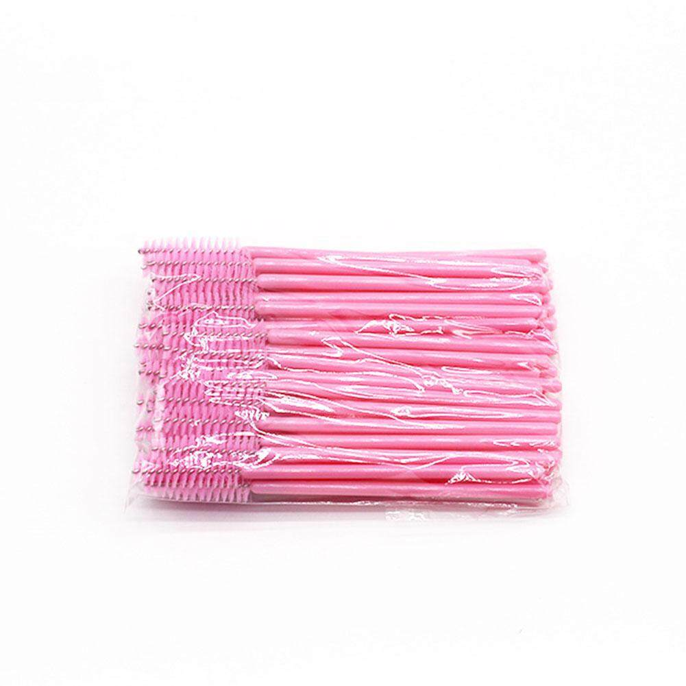 50 Pcs Eyelash Brushes Disposable Mascara Applicator Eye Lashes Cosmetic Brush Cabinet By Four Season Big Sale.