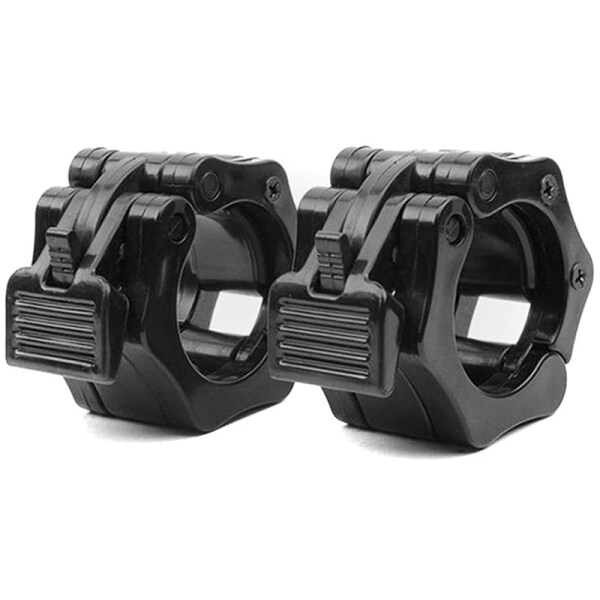 Bảng giá Olympic Size Barbell Collar Locks 50mm Bar Clamp Weightlifting Quick Release Lock Jaw, 1 Pair