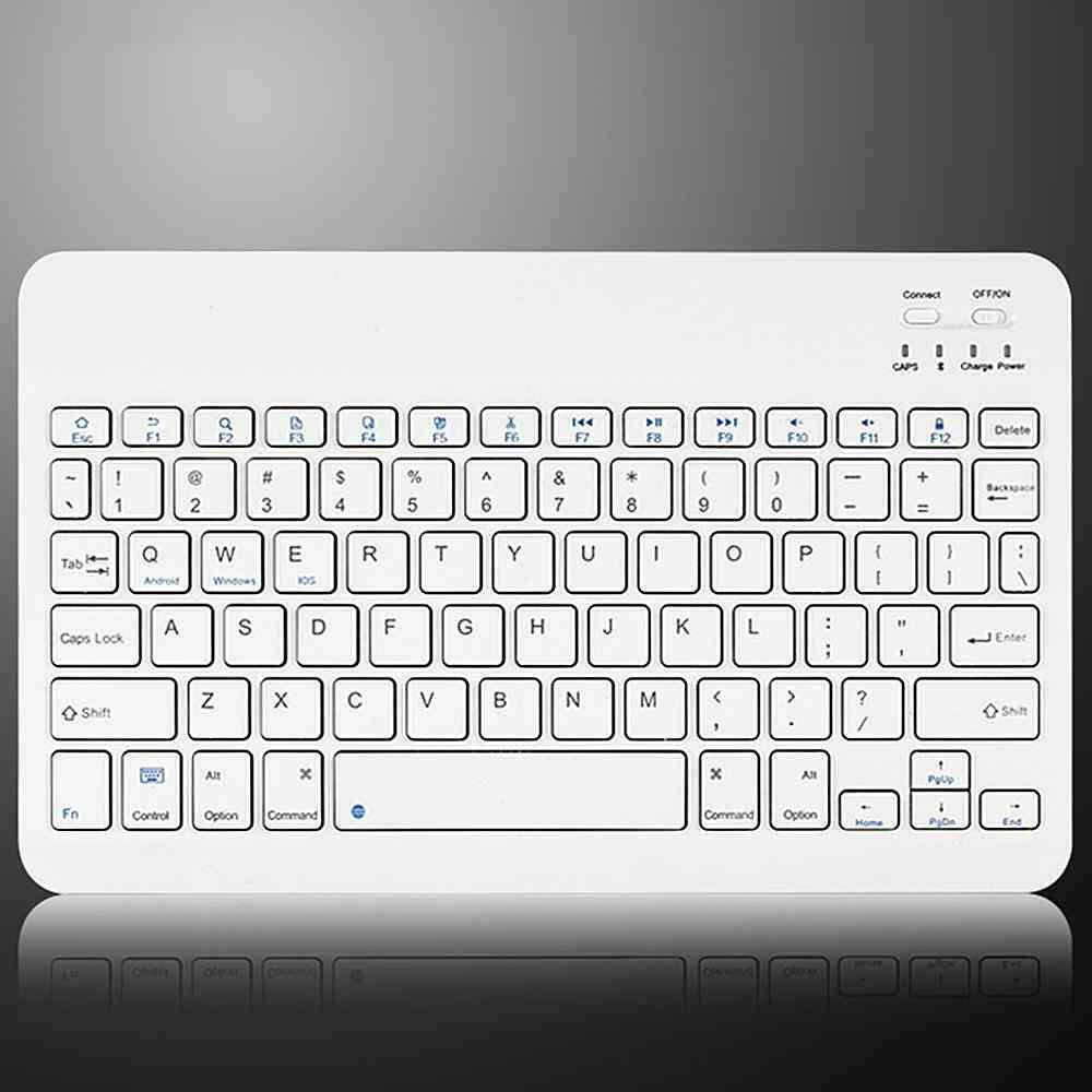 Betes 7 inches Slim Wireless Bluetooth 3.0 Keyboard For iMac iPad Android Phone Tablet PC Malaysia