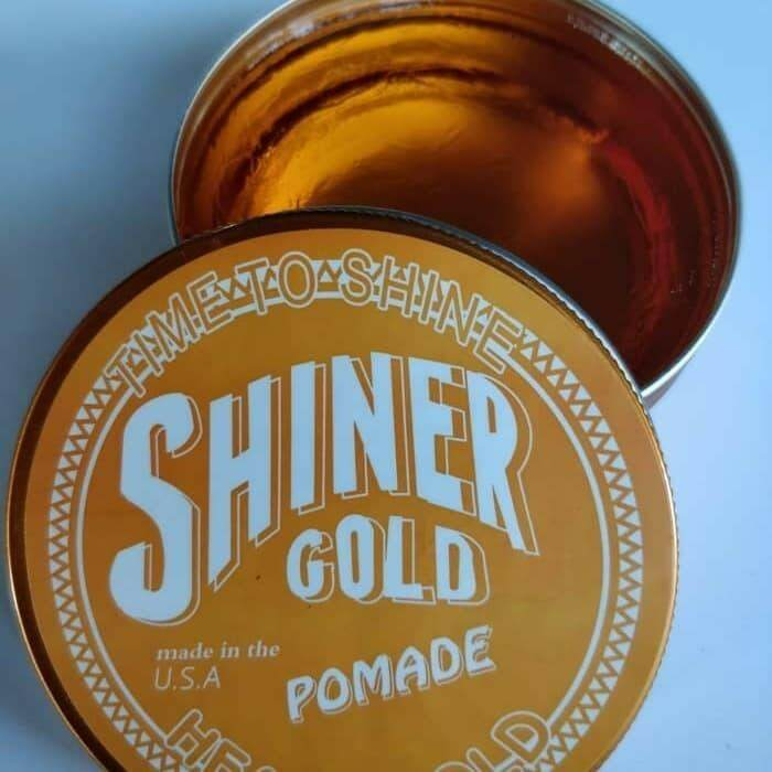 SHINER GOLD POMADE USA HOT HAIR GEL READY STOCK AND BEST PRICE ORANGE Malaysia