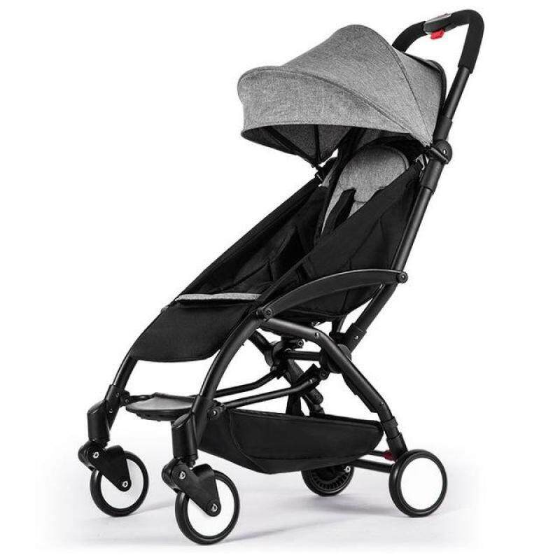 lightweight stroller can sit&lie 175 degree folding umbrella trolley ultra-light baby car portable on the airplane Singapore