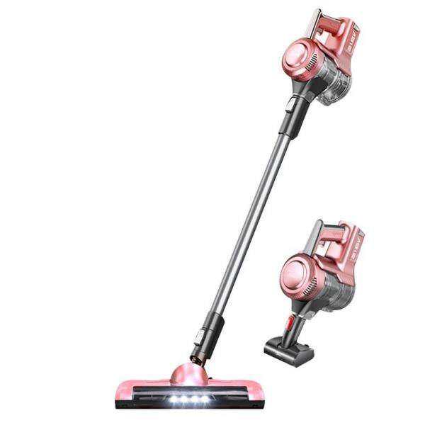 Midea P3L 2-in-1 Cordless Stick Vacuum Cleaner, 5 Accessories, 9Kpa Powerful Suction, Suitable for Home and Car, Pink Singapore