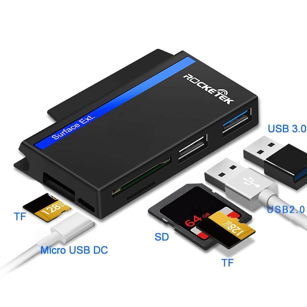 Dreamall Rocketek RT-SGO727 USB Loại C USB2.0 USB3.0 Đầu Đọc Thẻ Nhớ Đa Năng HUB - 3
