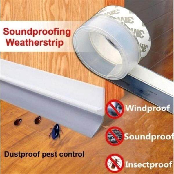 45mm Wide Insect Proof Door and Window Seal White Silicone Sealing Tape_1 Meter