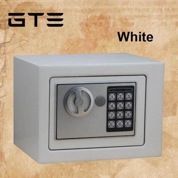 GMSHOP Safe Home Mini Safety Box Into The Wall Electronic Password Safe Deposit Box Office Coffer