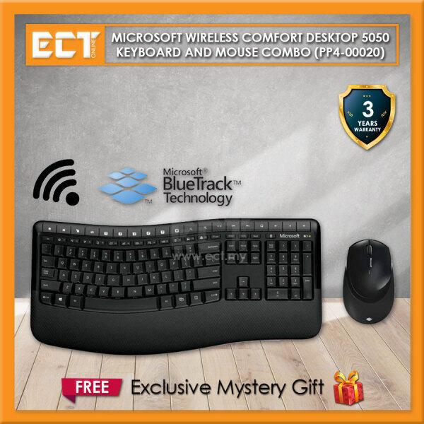 Microsoft Wireless Comfort Desktop 5050 Keyboard and Mouse Combo (PP4-00020) Malaysia