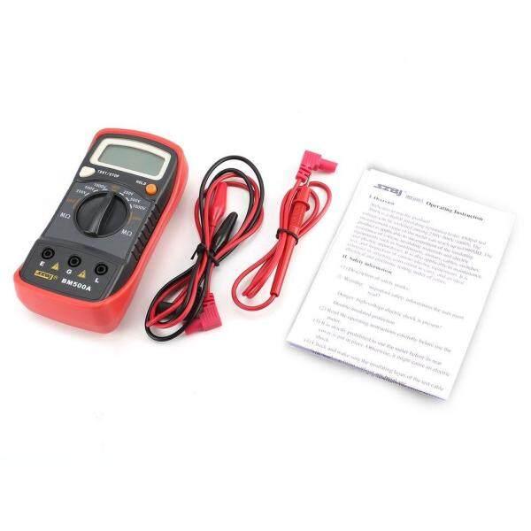 Mới BM500A 1000V Kỹ Thuật Số Điện Trở Cách Đo Bút Thử Megohmmeter