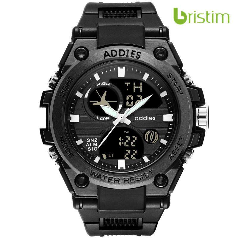 Addies MY-1818 New Plastic Multifunctional Watch Luminous LED Electronic Watch Men Outdoor Sports Malaysia