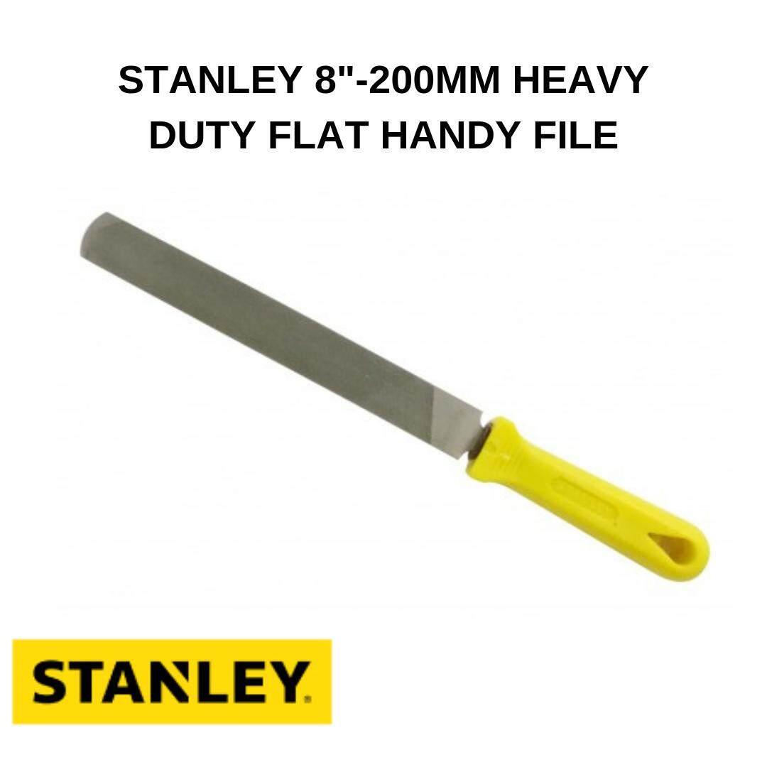 STANLEY 8-200MM HEAVY DUTY FLAT HANDY FILE