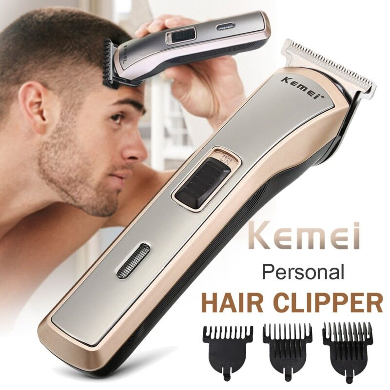 Electric Hair Clipper Trimmer Powerful Motor for Efficient Trimming With 3 Guide Combs 110-240V KM-418