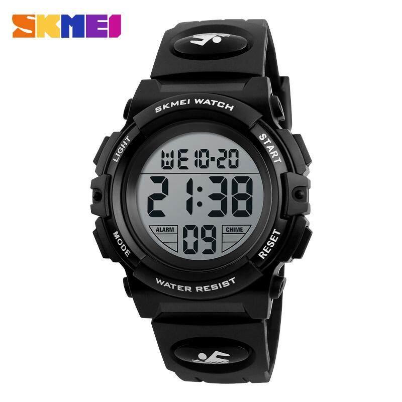 SKMEI Brand Kids Children Watches LED Digital Multifunctional Waterproof Wristwatches Outdoor Sports Watches for Kids Boy Girls 1266 Malaysia