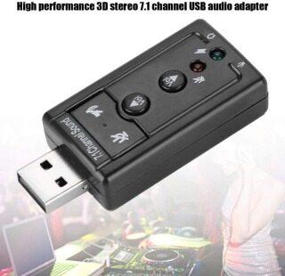 Bộ Chuyển Đổi Thẻ Âm Thanh Ảo USB Ngoài 7.1 Kênh CH, PC thumbnail