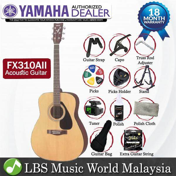 Yamaha FX310A 41  Full Size Electric Acoustic Guitar With Pickup Natural (FX310 AII FX 310AII) Malaysia