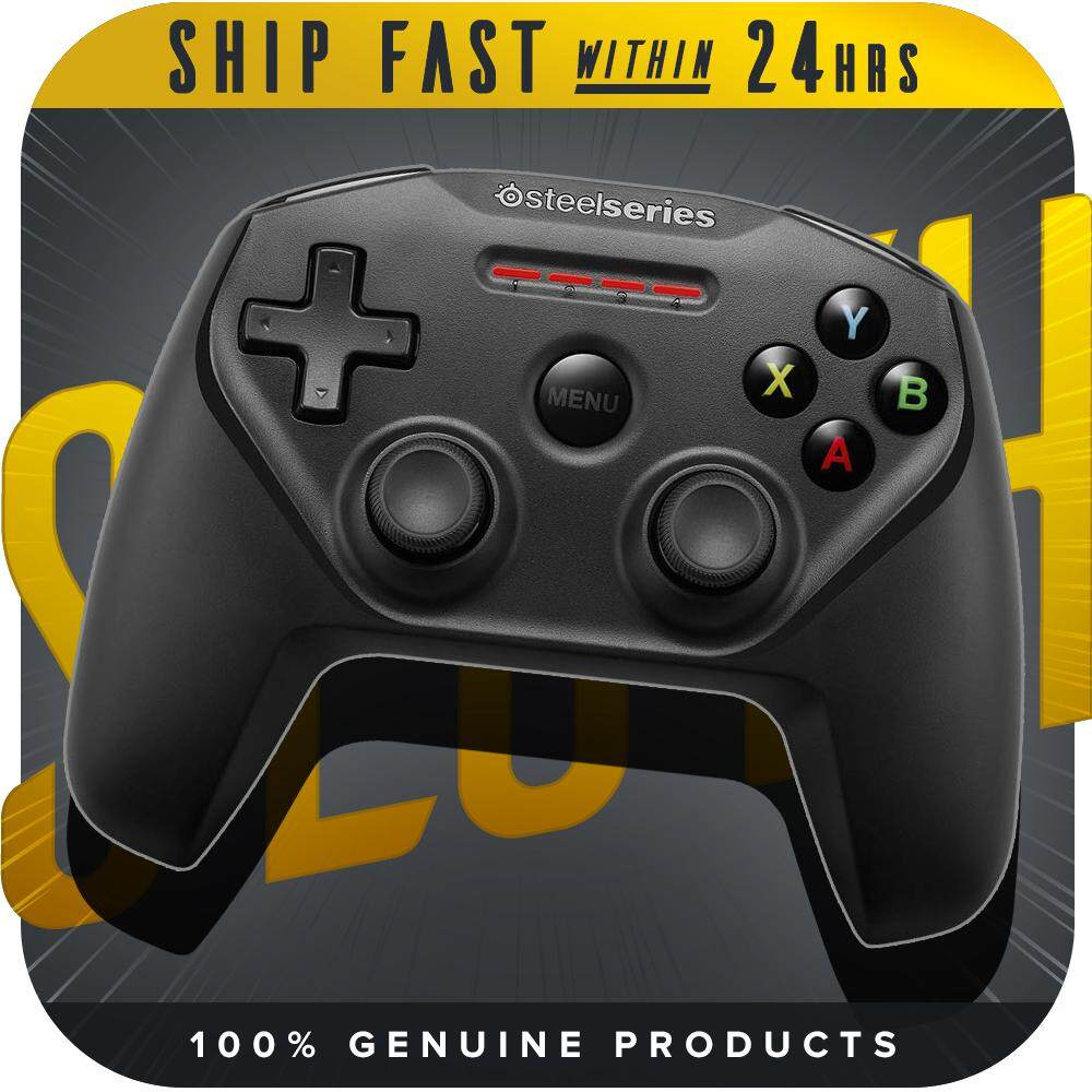 SteelSeries Nimbus Bluetooth Mobile Gaming Controller - Iphone, iPad, Apple TV - 40+ Hour Battery Life - Mfi Certified Malaysia