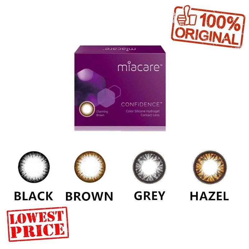 Miacare Color Confidence Monthly Silicone Hydrogel Cosmetic Contact Lenses