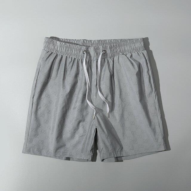 Original_GUCCI BURBERRY_Palm Angels_men กางเกงขาสั้นชายชุดว่ายน้ำชายหาดชุดว่ายน้ำกางเกงขาสั้น Quick DRY กางเกงขาสั้นลำลองผู้ชายนักมวยกางเกงฤดูร้อนกางเกงขาสั้นกางเกงขายาวสีดำ