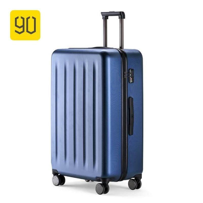 Xiaomi 90FUN 100% PC Suitcase Colorful Rolling Luggage Lightweight Carry on Spinner Wheel Travel TSA lock women men 20 24inch