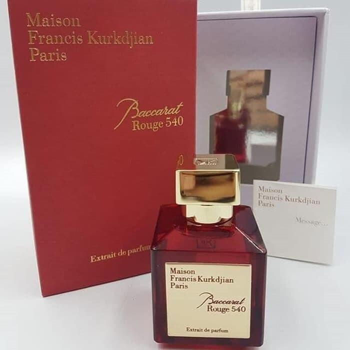 Baccarat Rouge 540 Unisex Extrait De Parfum 100ml High Quality Lazada