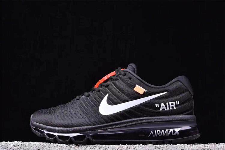 92d5ccb08 Nike Original OFF-White x Air Max 2017 Low Top Women s Running Shoes Global  Sales