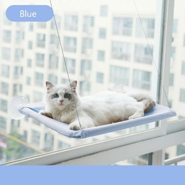 Khung Cửa Sổ Ghế Tựa Hình Trái Tim Mèo Đầy Màu Sắc Vật Nuôi Võng, Ổ Đỡ Giường Treo Thoải Mái 15KG