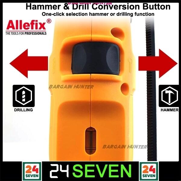 Allefix 710W Impact Drill FREE 28PCS TOOL KIT / Extraman 850w Impact Drill With 28PCS / EXTRAMAN 1100W Impact Drill