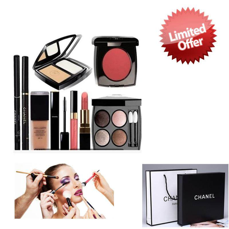 Ready Stock!!beauty 9 In 1 Make Up Set With Paper Bag By E_onlinemart.