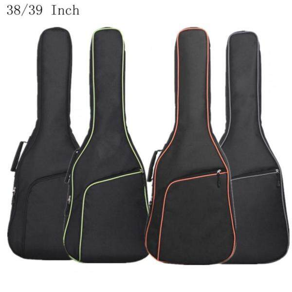 SLADE 38/39 Inch Oxford Fabric Guitar Bag Colorful Edge Double Straps Case Waterproof Backpack Malaysia