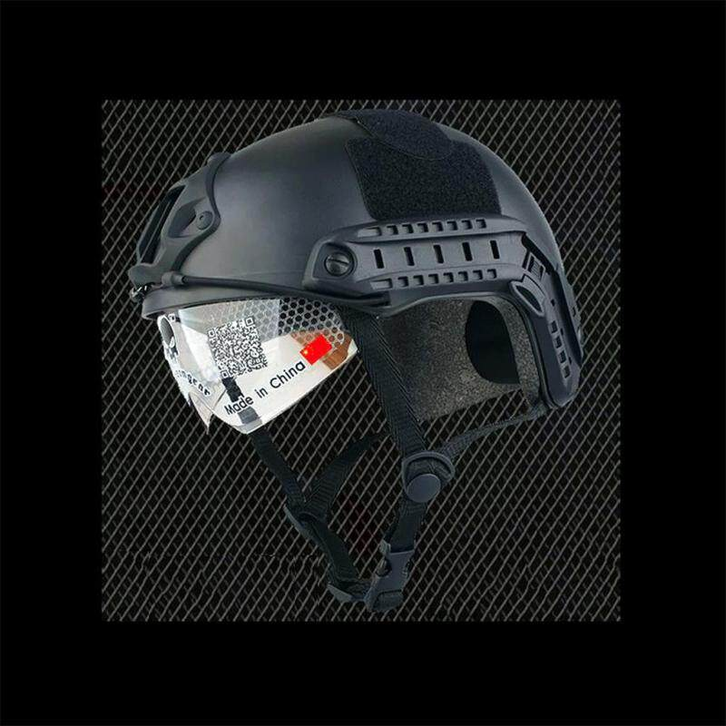 Black FAST MH ABS Helmet Visor