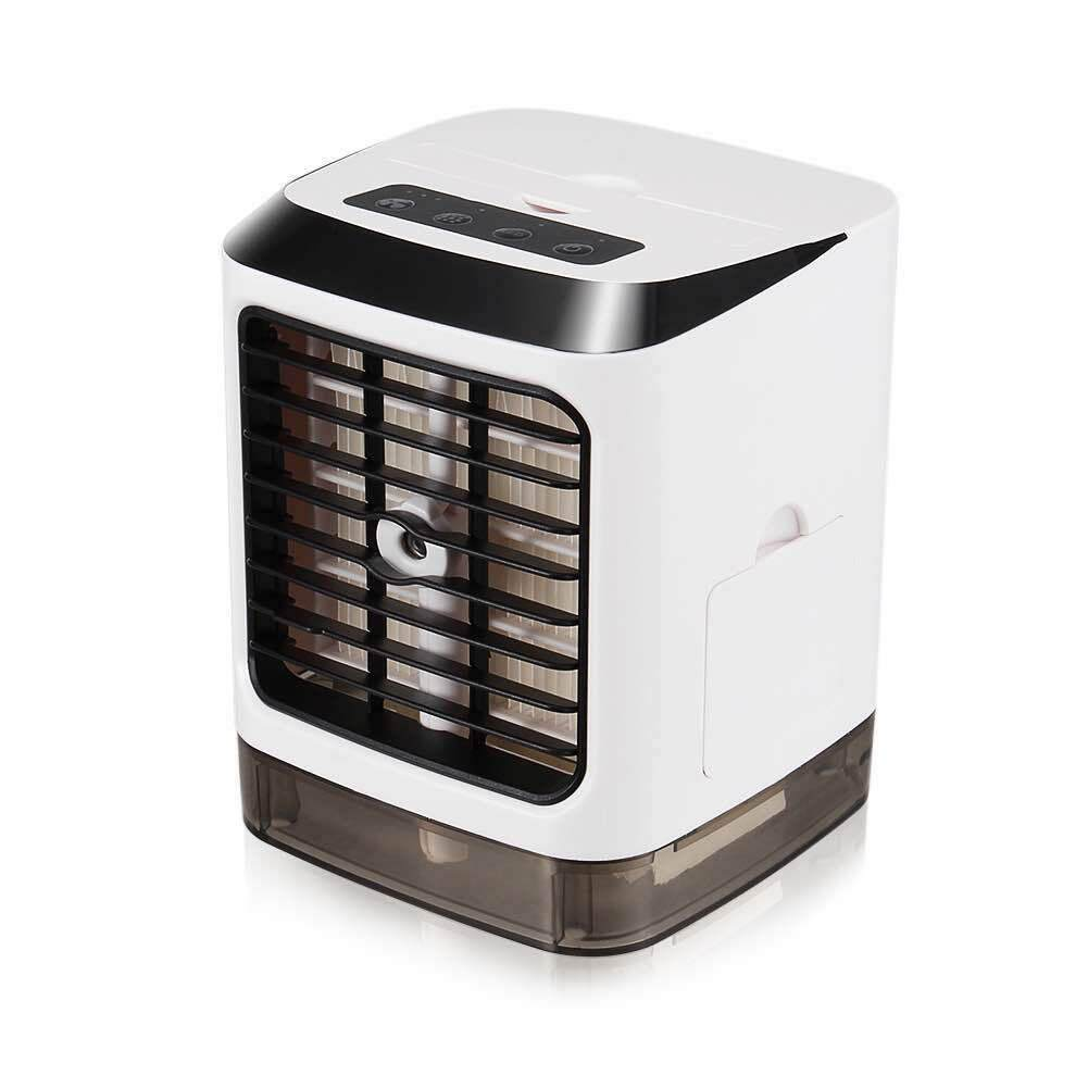 Humidification Fan Practical USB Charging Portable Mini Durable Mist Spray Mute Office Outdoor Summer Air Cooler Desk Home