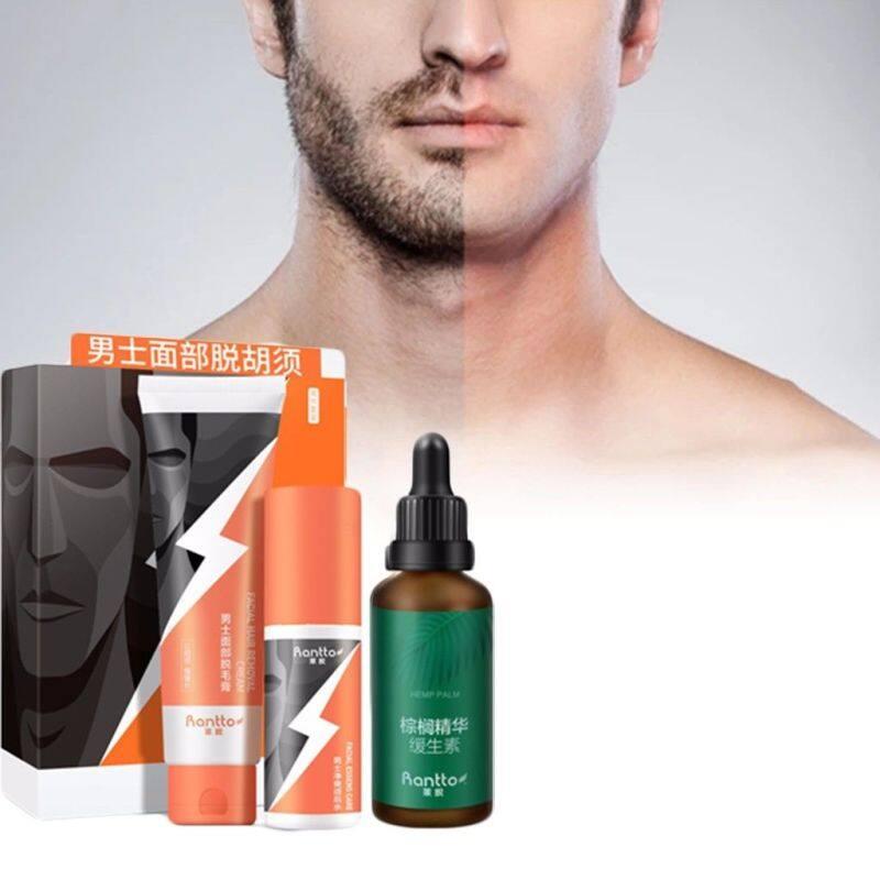 Tẩy Lông Nam Loại Bỏ Lông Vĩnh Viễn Creamclean Shave-Kem Tẩy Lông Râu Nam Làm Đẹp
