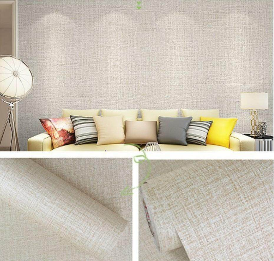Pure Colour Self Adhesive Wallpaper 45cm x 1000cm Kertas Dinding Sticker Wall Paper
