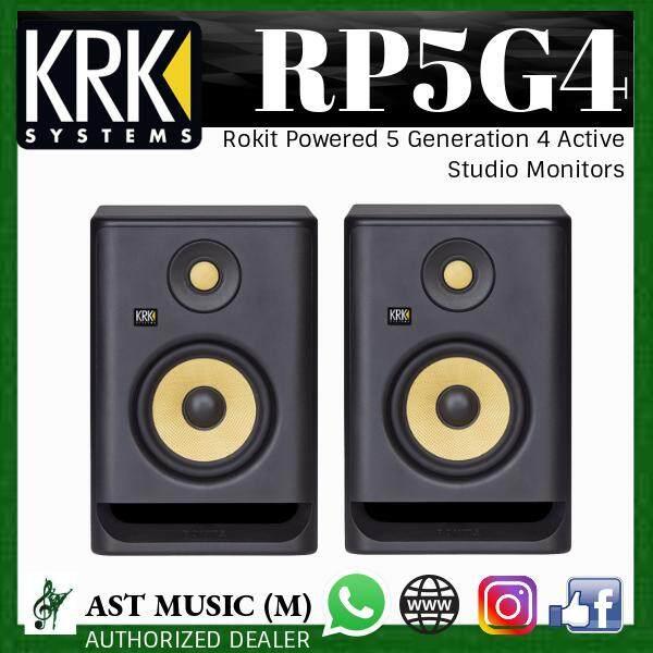 KRK RP5G4 ROKIT 5 G4 5 inches Active Studio Monitor ( 1 pair ) ( #1 STUDIO MONITOR BRAND IN THE WORLD )