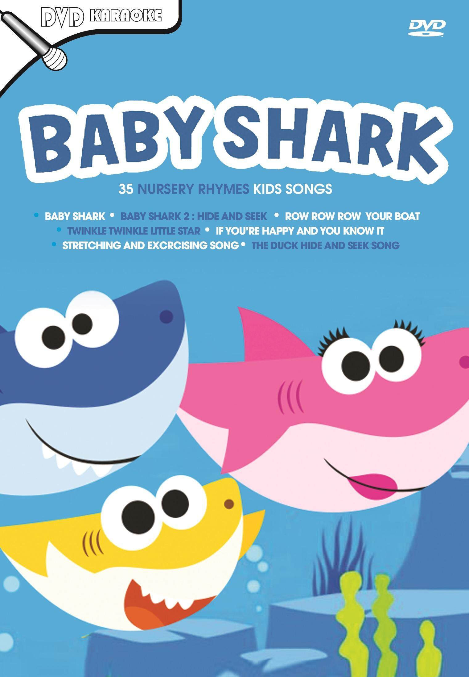 Baby Shark 35 Nursery Rhymes Kids Songs (dvd) By Ccjv69.