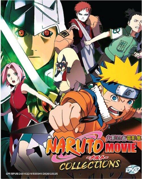 Naruto The Movie Collection Part 1 11 Anime Dvd Lazada