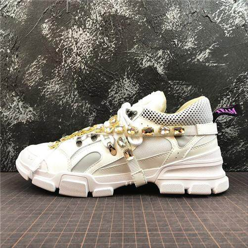 6961ff50bdd Gucci Original Discounted MEN Sports Sneakers Shoes Rhyton Vintage Trainer  Sneaker EU 40-44