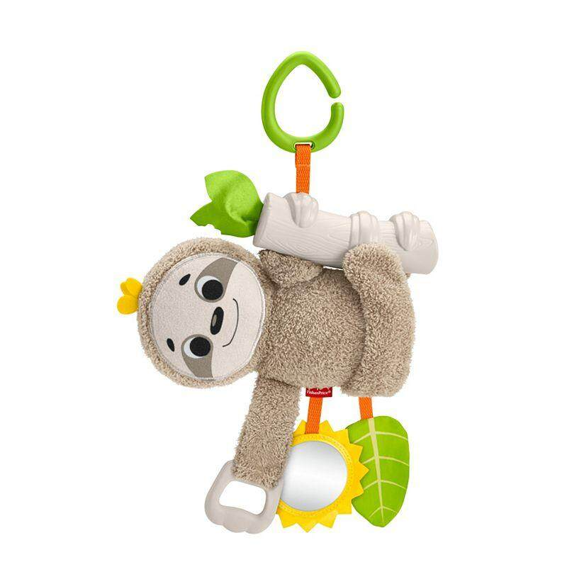 Fisher-Price Slow Much Fun Stroller Sloth baby toys
