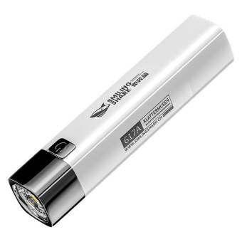 【Stock】Flashlight USBมือถือชาร์จได้Power Supply Multi-Function Superไฟส่องสว่างกลางแจ้งไฟฉายขนาดเล็ก