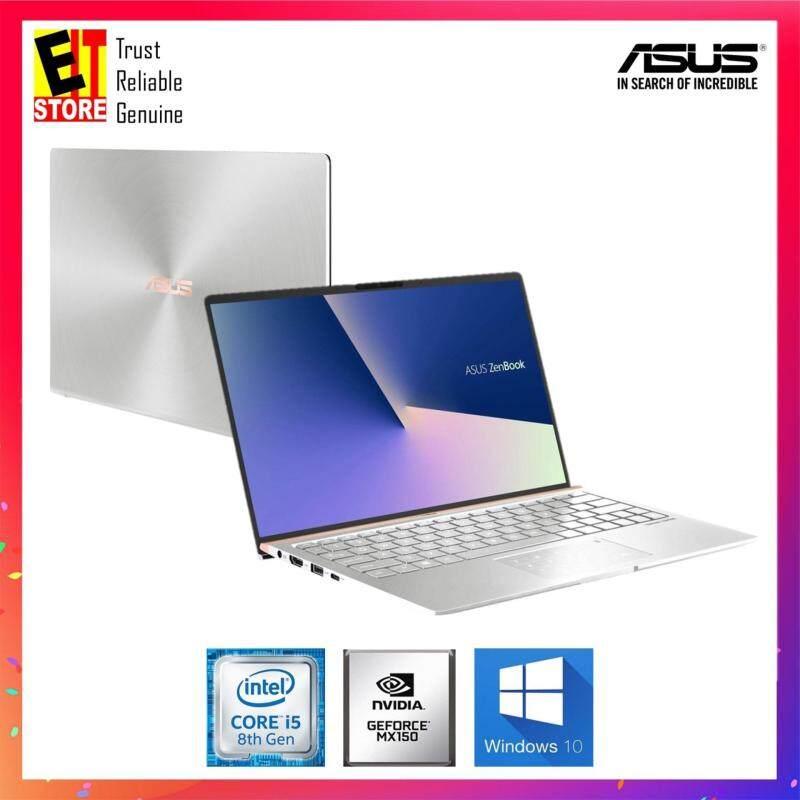 Asus Zenbook UX433F-NA6154T 14 FHD Laptop Silver  (i5-8265U, 8GB, 512GB, MX150 2GB, W10) Malaysia