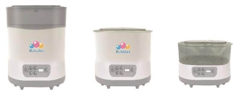 Bubbles Steam & Dry Sterilizer FREE 1 x Tommee Tippee Soother + 2 x K-mom Wipes