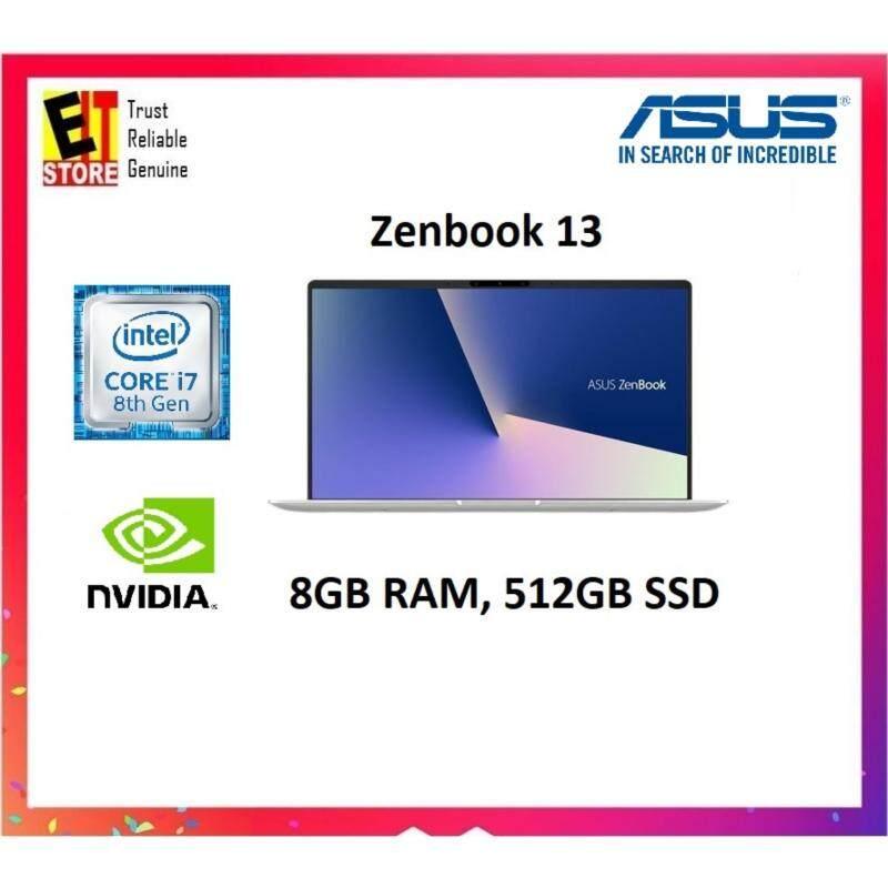 Asus ZenBook UX333F-NA4120T 13.3 Laptop/ Notebook (i7-8565U, 8GB, 512GB, NV MX150, W10H) Malaysia