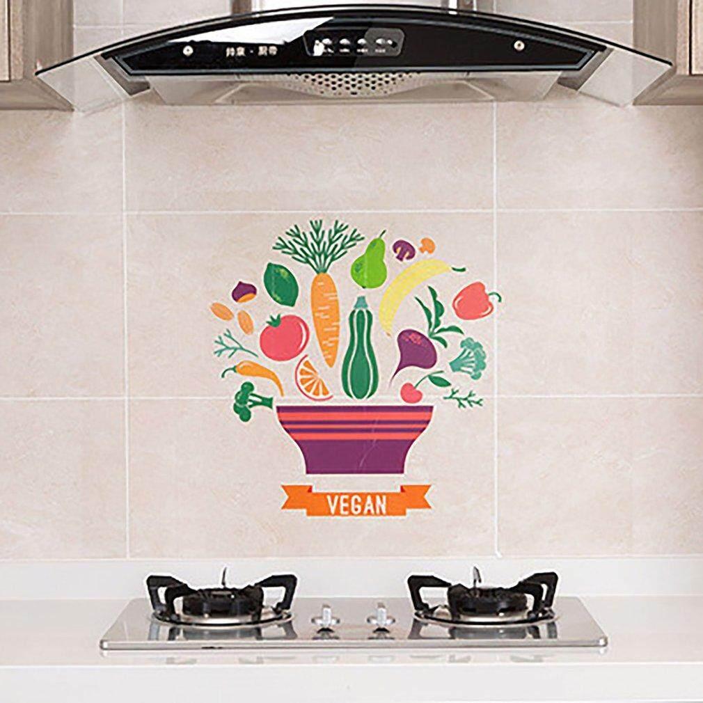 Baik 100G Transparan Self-Kertas Berperekat Kompor Suhu Tinggi Anti-Pasta Minyak Lantai Dapur